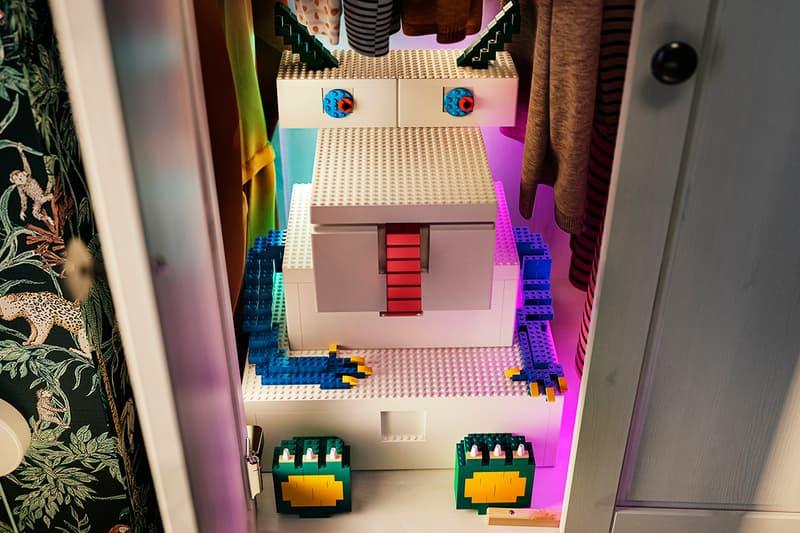 IKEA x LEGO BYGGLEK Collection Children Parents Homeware Building Bricks Storage Boxes First Look Release Information Stores Drop Date Minifigures