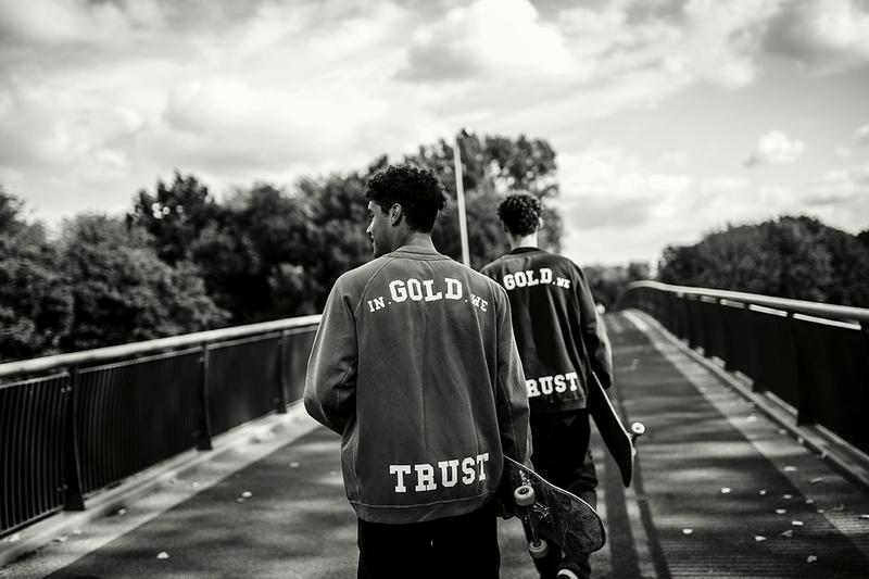 In Gold We Trust Launches Coming of Age Coffee Table Book Streetwear Amsterdam Fashion Store Opening