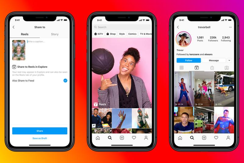 Instagram Officially Launches Reels TikTok Rival video creative content camera app
