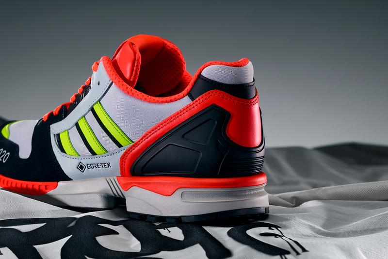irak adidas originals a zx 8000 gtx gore tex FX0372 FX0371 red purple silver white black blue neon green official release dates info photos price store list buying guide