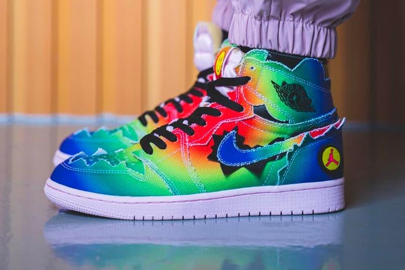 J Balvin Air Jordan 1 Retro High OG menswear streetwear spring summer 2020 collection artist rapper hip hop pop latin ss20 nike swoosh sneakers footwear