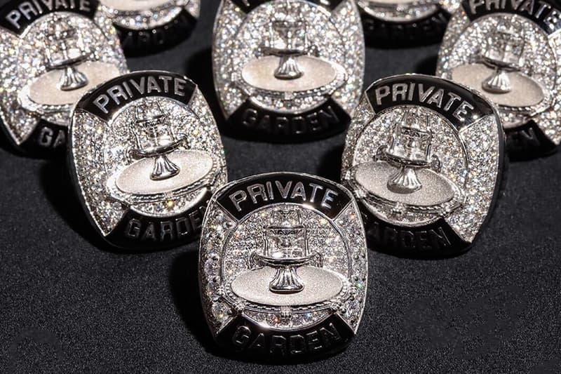 Jack Harlow $110K USD Alex Moss New York Private Garden Championship Rings Diamond Jewelry Price Info