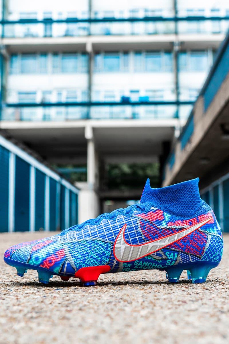 jadon sancho nike football collection release se11 football boots Borussia dortmund england