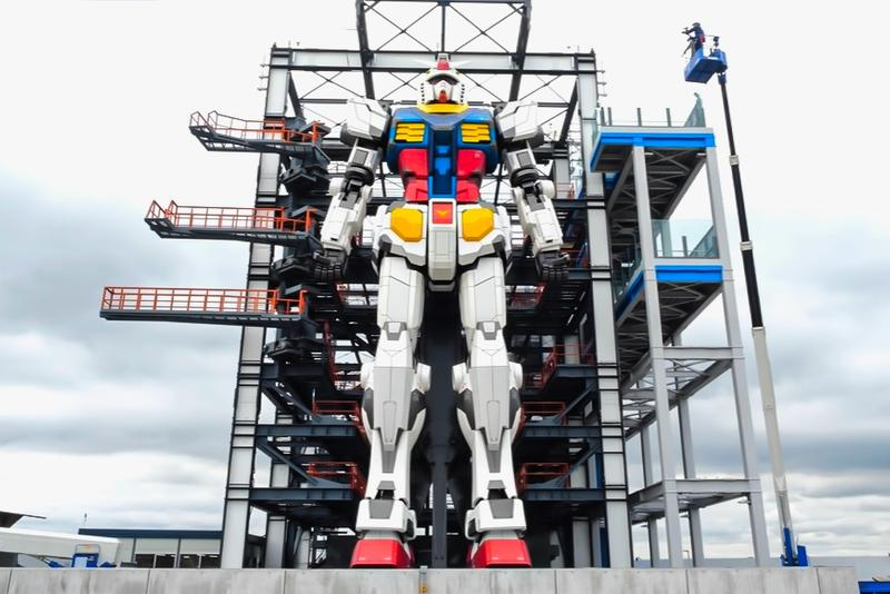 Japan Life-Size Gundam Now Complete Info RX 78 Yokohama Photos Video look