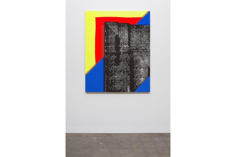 Jason REVOK Solo Exhibition Dio Horia Mykonos 'Descending' gallery paintings greece machines chaos unpredictability patterns