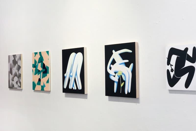 "Jocelyn Tsaih Bryon Christman ""Crossroads"" Show Exhibition info paintings Good Mother Gallery Oakland"