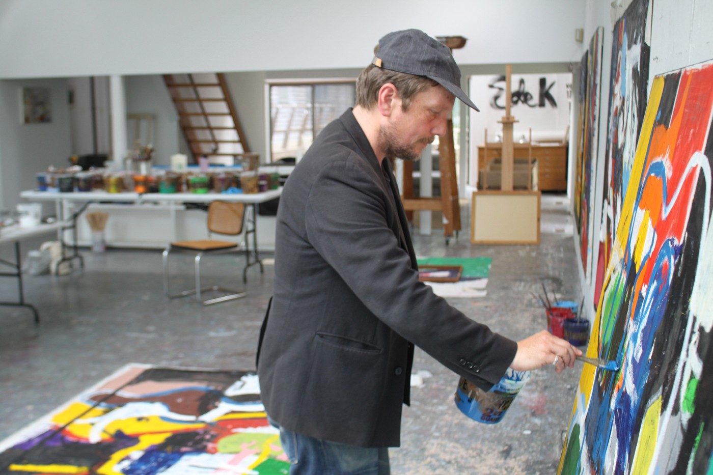 joe bradley interview elaine de kooning house artist residency