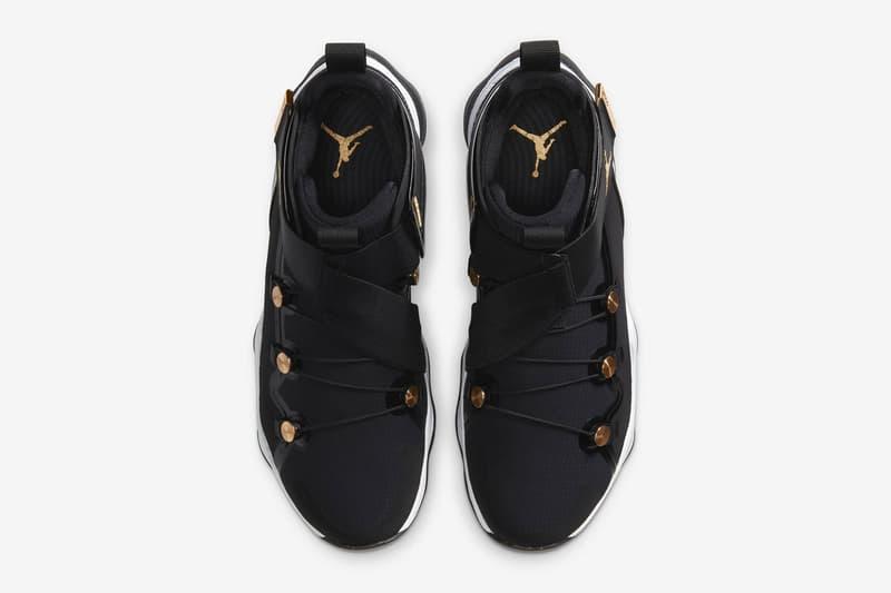 "Jordan AJNT 23 ""Black"" Release Date Michael Jordan Jumpman Tinker Hatfield HYPEBEAST Footwear Sneakers Limited Edition Metallic Gold NBA Playoffs August"