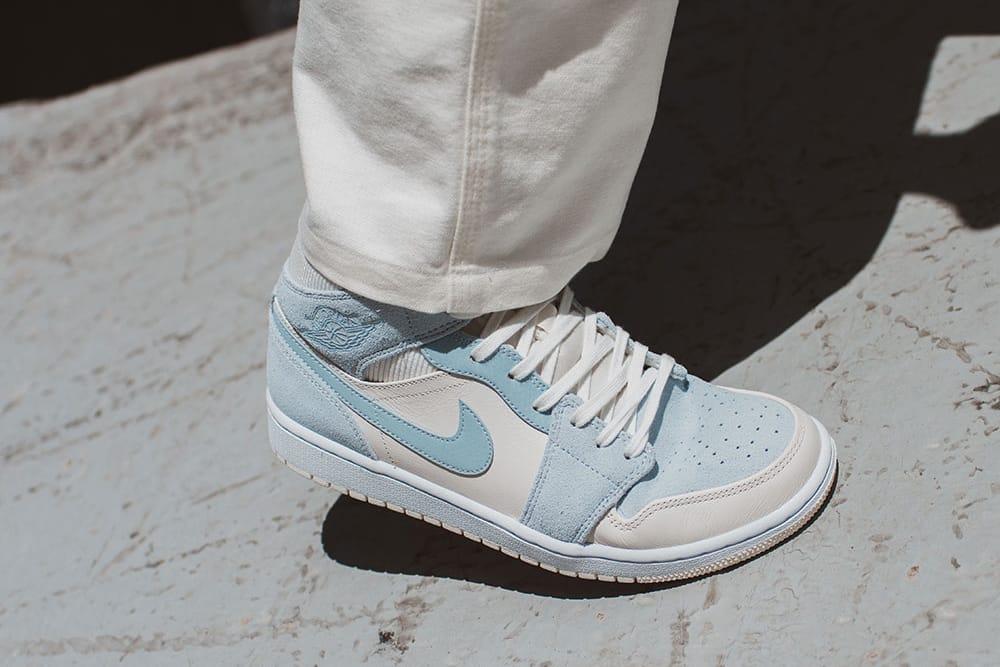 baby blue shoe