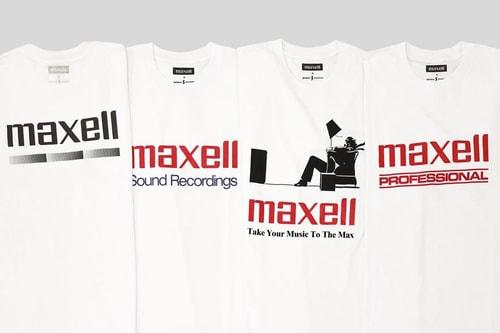 JOURNAL STANDARD Drops Nostalgic Maxell T-Shirt Collection