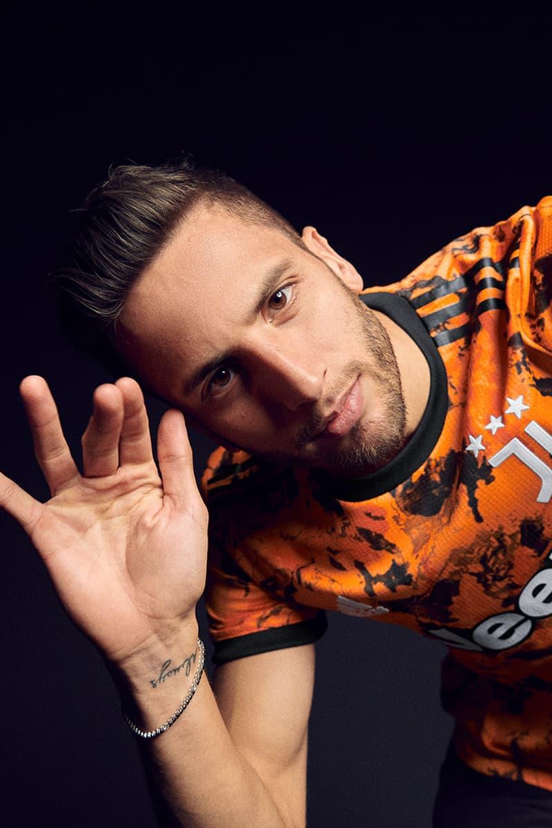 juventus Adidas football away kit 2020 2021 third kit orange Camo bold inspired release information