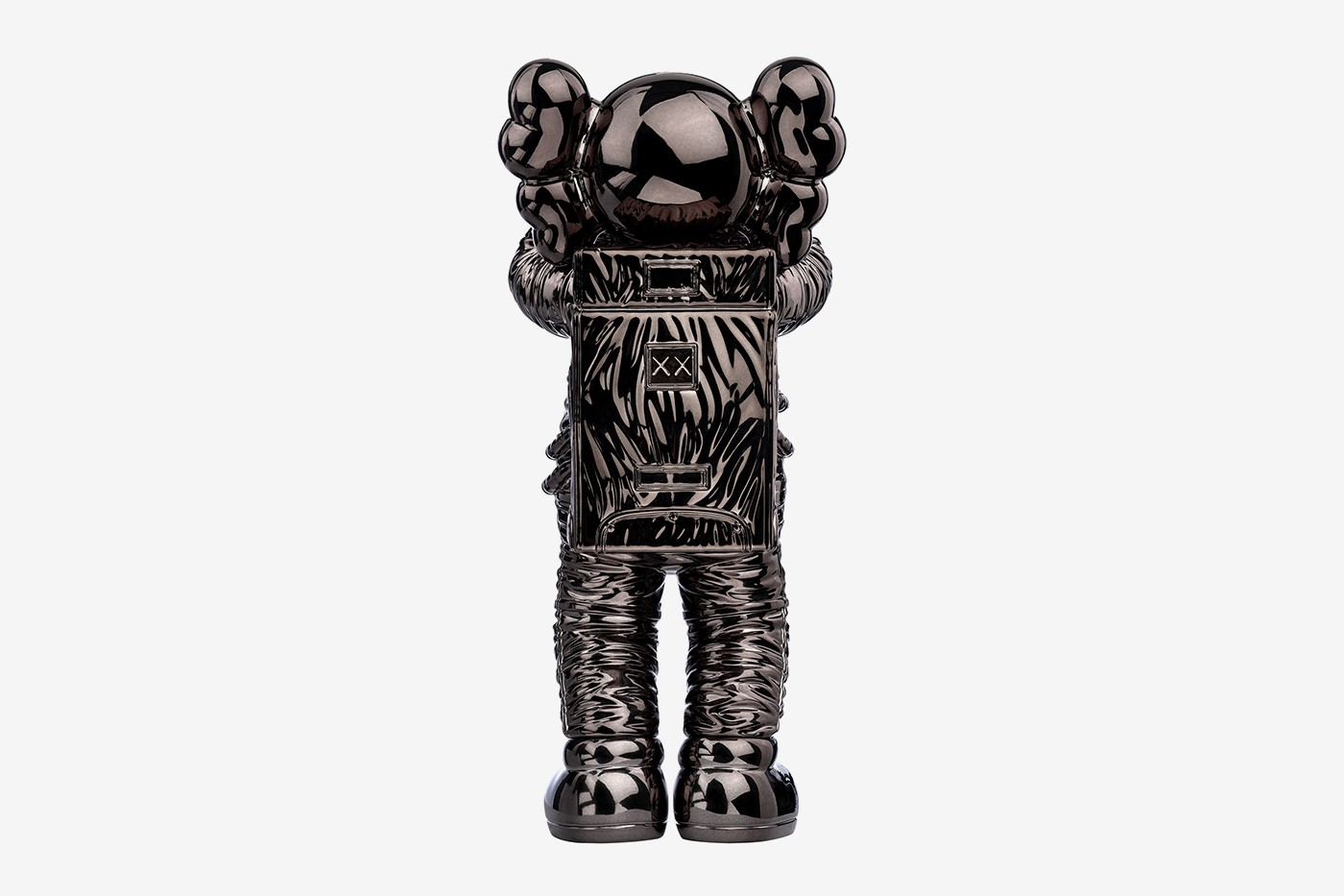 'KAWS:HOLIDAY SPACE' Companion AllRightsReserved figure collectible 11.5 inches astronaut three colorways gold silver black