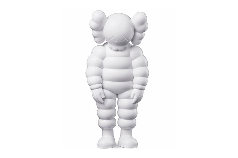 kaws what party chum figures release kawsone collectibles
