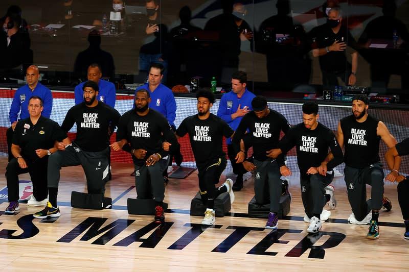 los angeles Lakers Clippers Vote Boycott remaining NBA Season playoffs jacob blake blm black lives matter blacklivesmatter  Milwaukee Bucks Orlando Magic