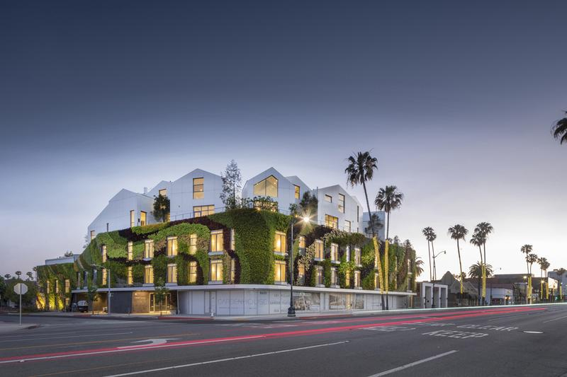 MAD Architects Greenhouse Los Angeles Residence house home condominium ma yansong design firm studio 2020 build