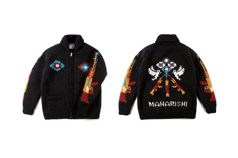 maharishi Kanata knitwear fw20 Cowichan collection Canadian hand knitted release info