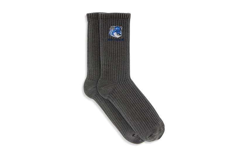 "Maison Kitsuné and ADER error ""The Bluest Fox"" collection crewnecks short sleeves polos hats socks"