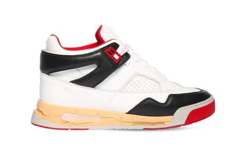 The Air Jordan 4 Inspires Maison Margiela's 35mm DDSTCK Leather Mid-High Sneaker