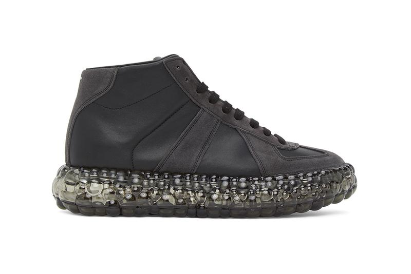 Maison Margiela High Tops Black Caviar menswear streetwear spring summer 2020 collection ss20 shoes footwear kicks trainers runners