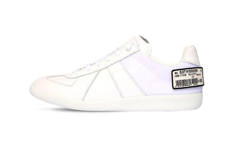 Maison Margiela Replica Leather Barcode Strap Sneakers Release shoes footwear trainers runners kicks spring summer 2020 collection ss20