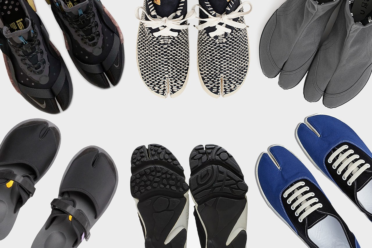 Best Tabi-Style Sneakers and Sandals