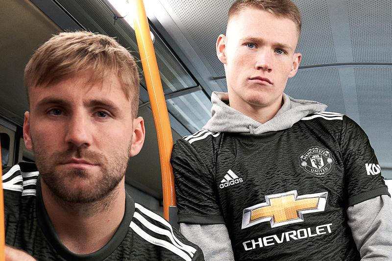 manchester united adidas football release information buy cop purchase details 2020/21 premier league season black dark white