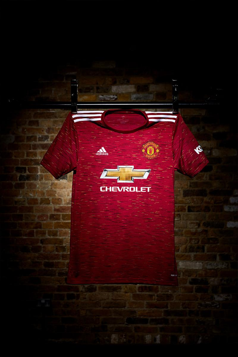 Manchester United Adidas home kit 2020/21 red pogba Rashford Wan Bissaka Daniel James new kit