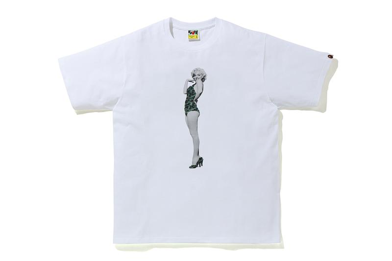 Marilyn Monroe A BATHING APE t-shirt collection Release Info bape Authentic Brands Group APE HEAD