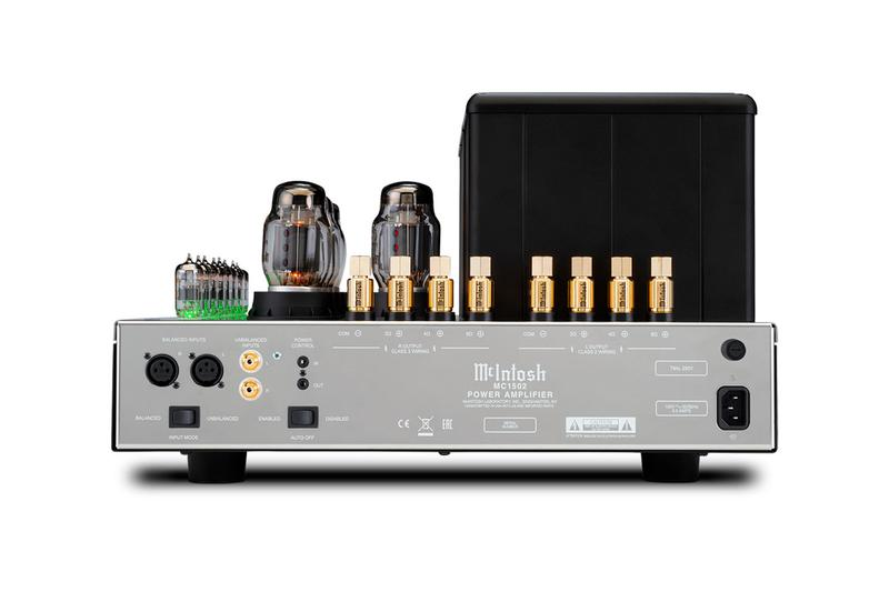 McIntosh New MC1502 Vacuum Tube Amp Was Made for Serious Audiophiles audiophile MC275 MC2152 home audio pre-amp sound McIntosh Lab