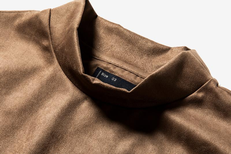 MEANSWHILE Functional Suede Series Fall Winter 2020 fw20 menswear streetwear sweaters turtlenecks mocknecks crewnecks technical japanese