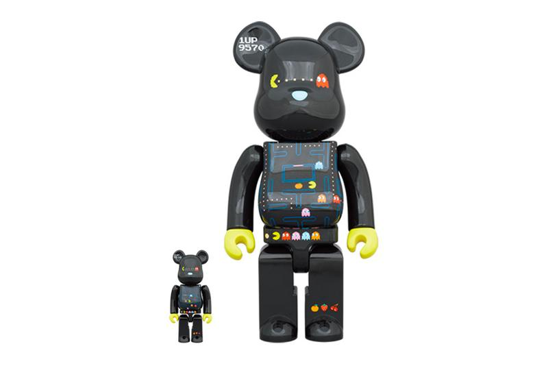 Medicom Toy PAC MAN BEARBRICK 400 100 toys accessories figures spring summer 2020 collection gaming arcades maze namco