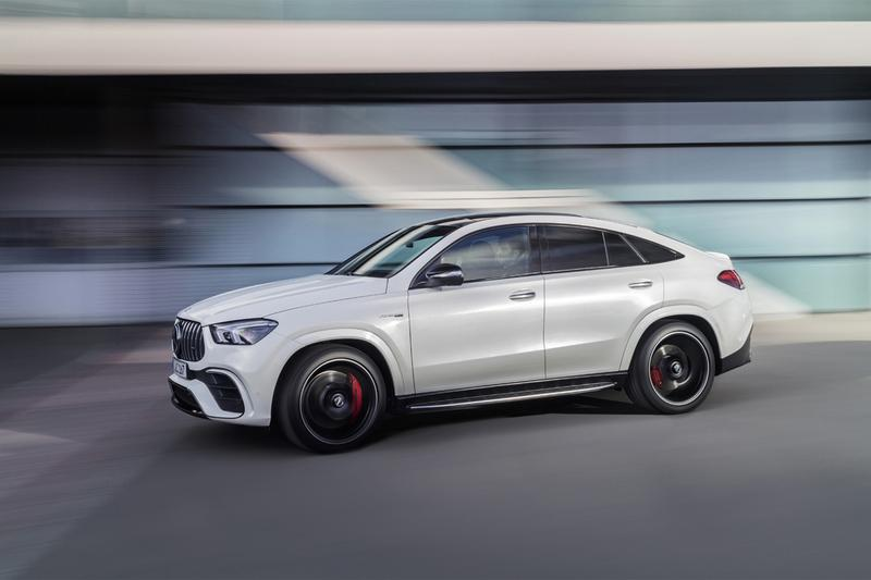 mercedes amg gle 63 s coupe 2021 603 horsepower twin turbo v8 engine