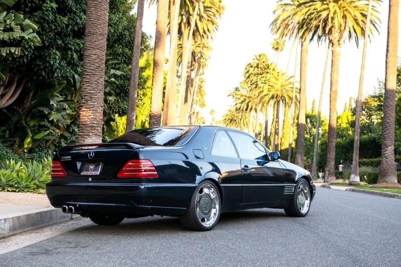 Michael Jordan's 1996 Mercedes-Benz S600 Lorinser Is up for Auction Beverly Hills Car Club auctions Lorinser Benz s600 MJ Air Jordan