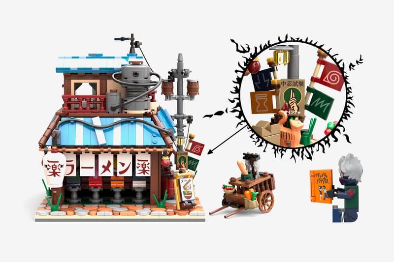 Naruto Ichiraku Ramen Shop LEGO IDEAS Set Project Info Buy price