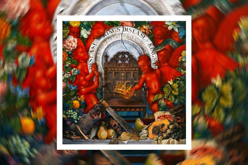 Nas King's Disease Album Release info date hit-boy nasir ultra black