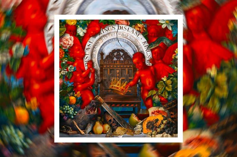 Nas King's Disease Album Tracklist Features don toliver big sean lil durk hit boy asap ferg anderson paak