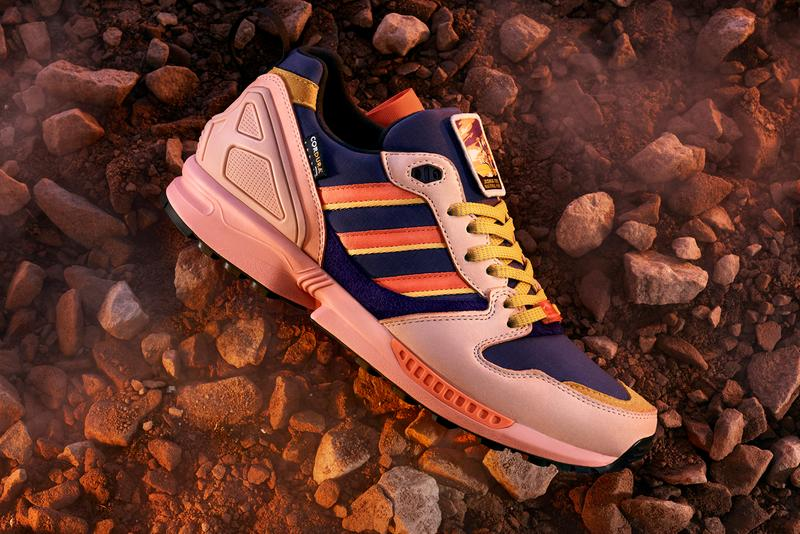 national park foundation adidas originals zx 5000 joshua tree a to zx FY5167 vapor pink easy orange tech purple tan cordura official release date info photos price store list buying guide