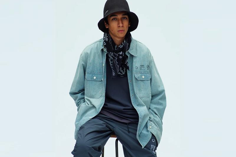 NEIGHBORHOOD Fall winter 2020 Lookbook menswear streetwear ss20 collection hats garments jackets coats denim pants shinsuke takizawa
