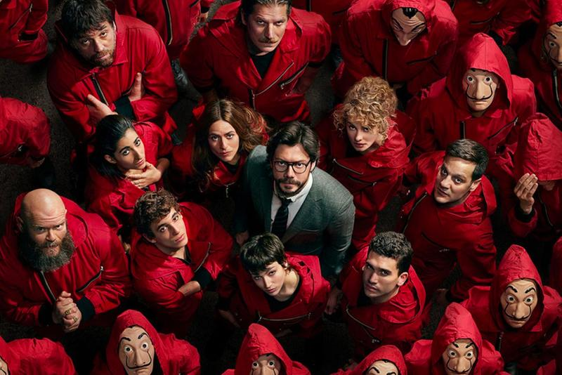 netflix la casa de papel money heist spanish spain series fifth final 5th 5 five season confirmed