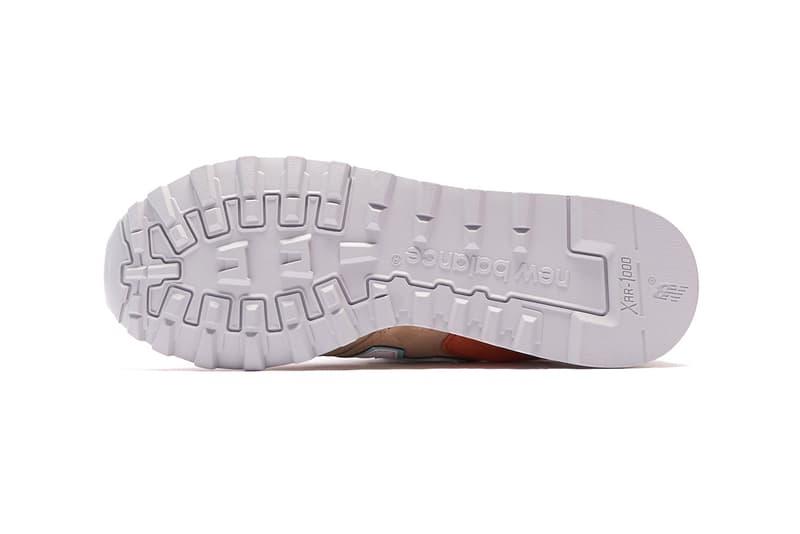 New Balance 1300 Navy Teal Tan Orange NBM1300AU NBM1300AA menswear streetwear shoes sneakers trainers runners kicks spring summer 2020 collection ss20