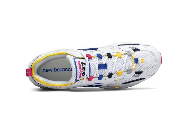 new balance 827 sneaker colorways cobalt blue atomic yellow white mauve where to cop where to buy available from