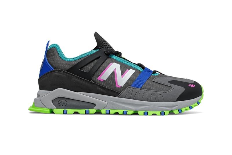 "New Balance X-Racer ""Black/Meadow"" MSXRCTCD Release Information Closer Look Footwear Sneaker Drop Neon Fluorescent Highlighter Shoe Trend Outdoor Trail Runners Ripstop ABZORB"