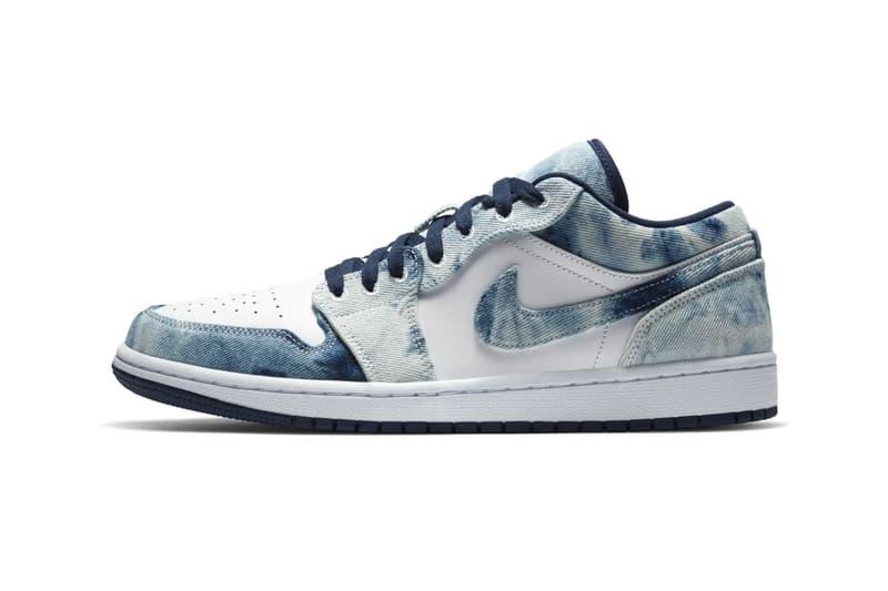 Nike Air Jordan 1 washed Denim cZ8455 100 menswear streetwear kicks sneakers shoes trainers runners footwear spring summer 2020 collection ss20