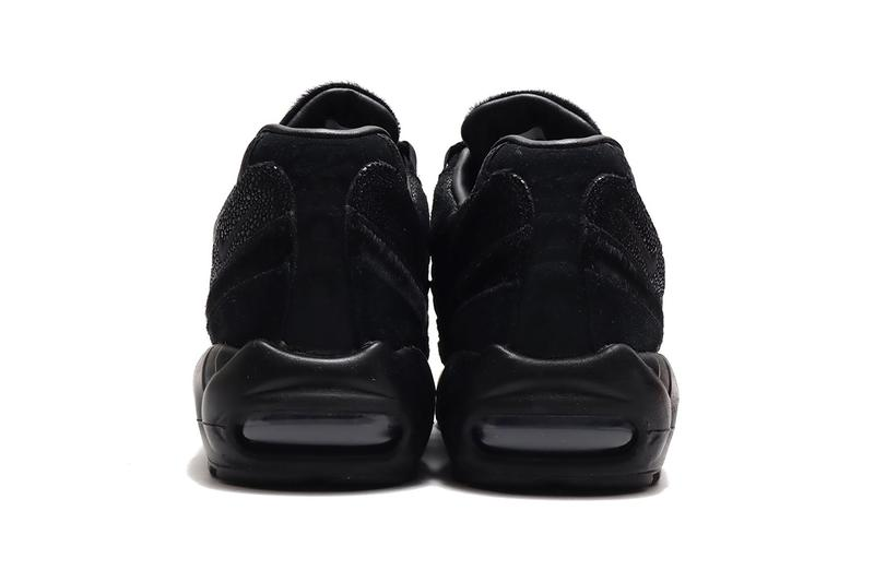 nike air max 95 black anthracite release info sneaker release cop date atmos Tokyo all black black out