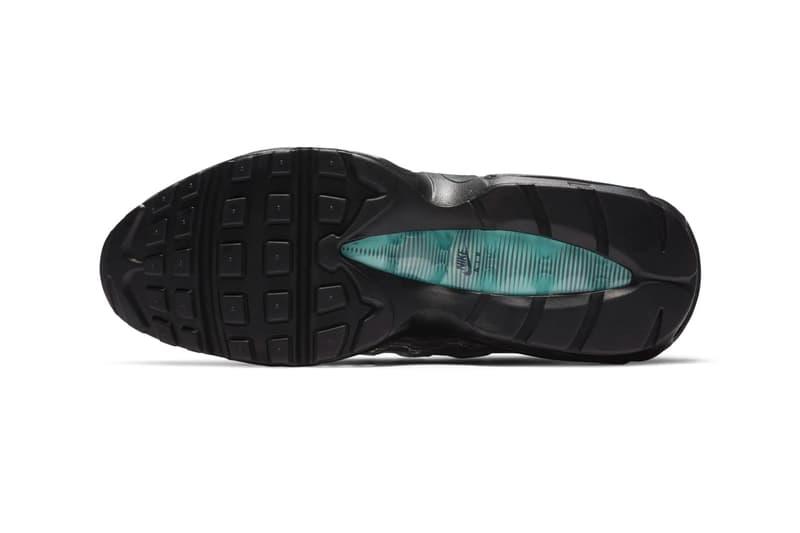 Nike Air Max 95 DNA Sail Aurora Green menswear streetwear spring summer 2020 collection ss20 shoes kicks footwear swoosh trainers runners