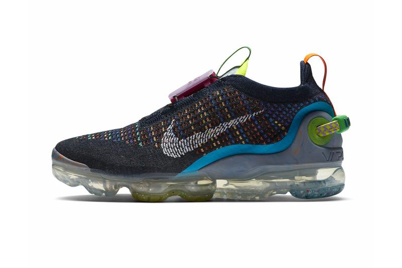 Nike Air VaporMax 2020 FK Deep Royal Blue Multi Color CJ6740 400 menswear streetwear spring summer ss20 collection shoes sneakers kicks