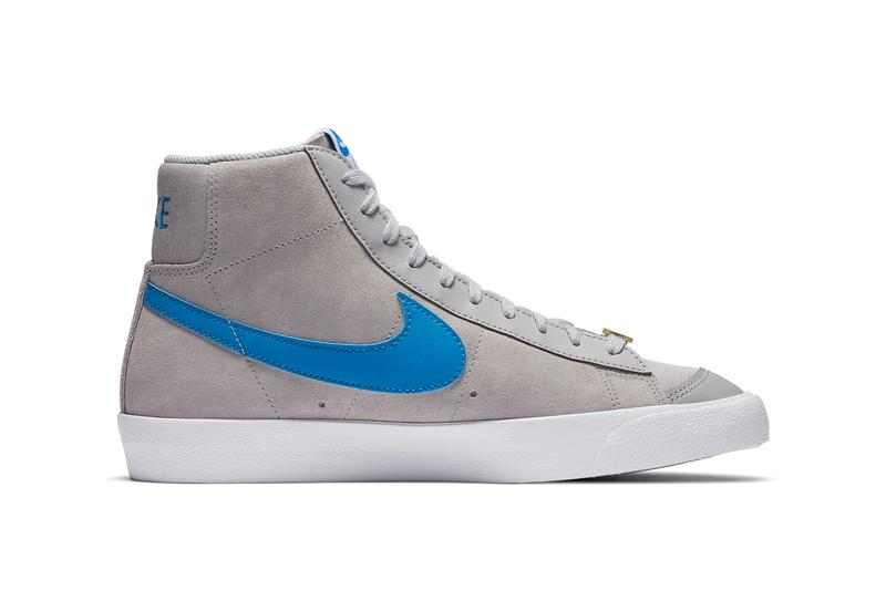 nike sportswear blazer 77 mid vintage sky force 3 4 grey fog coney island CV0600 CV8927 001 grey fog light photo blue white official release date info photos price store list buying guide CV0600 CV8927 001