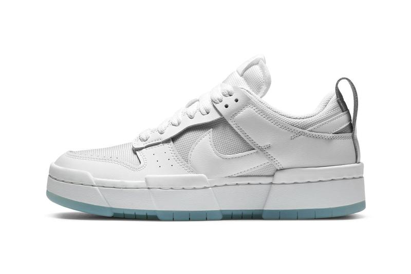 nike sportswear dunk low disrupt womens white grey red black blue official release date info photos price store list buying guide