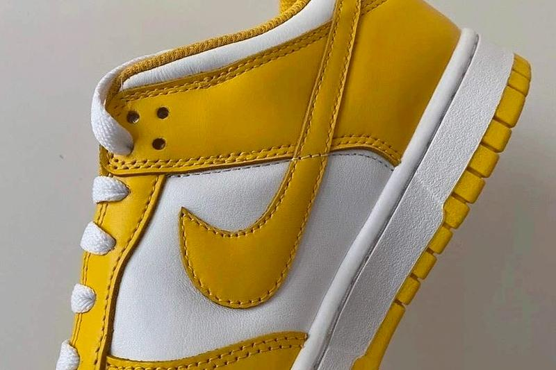 Nike Dunk Low Yellow White Leaked Teaser Info Release Date Buy Price