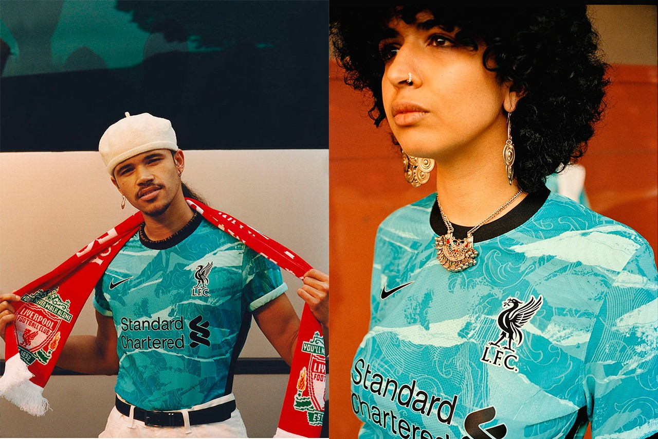 liverpool fc football club away jersey details 2020 21 release information kit scott munson interview details buy cop purchase